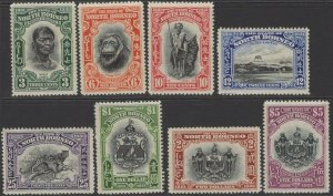 NORTH BORNEO SG295/302 1931 ANNIVERSARY SET MTD MINT