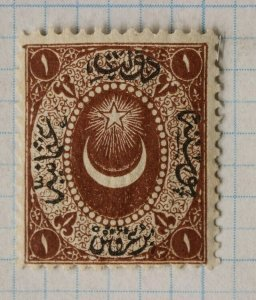 Turkey sc#10 1865 Lilac Brown Mint  MNH never hinged OG