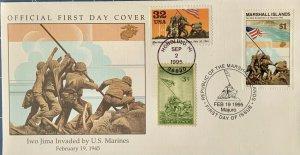 HNLP Hideaki Nakano 2981 World War II Marines On Iwo Jima Marshal Islands