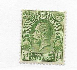 Turks & Caicos #45 MH CAT VALUE $4.00