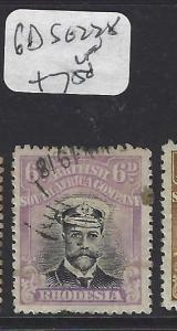 RHODESIA (P1211B) KGV ADMIRAL  6D   SG 228      VFU