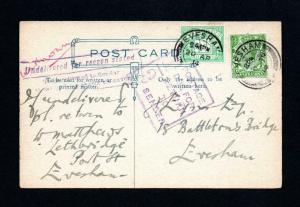 1/2d POSTAGE DUE 20 APRIL 1914 FIRST DAY POSTCARD Cat £750