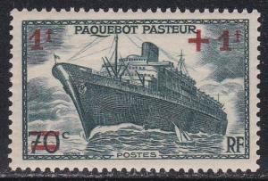 France #  B114, Liner Pasteur, NH