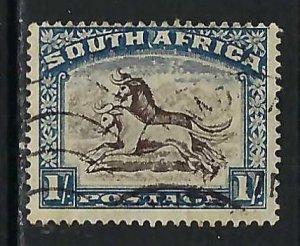 SOUTH AFRICA 43a VFU Q491-3