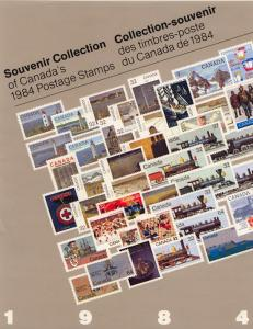 Souvenir Collection The Postage Stamps of Canada 1984