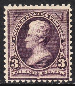 1895 U.S Andrew Jackson 3¢ issue MNH Sc# 268 CV $115.00