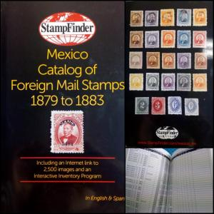 J) 2014 UNITED STATES, MEXICO CATALOG OF FOREIGN MAIL STAMPS, 1879-1883, INCLUDI