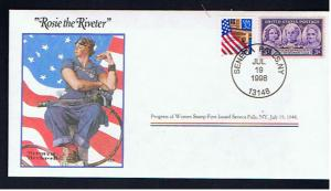 NORMAN ROCKWELL COMMEMORATIVE COVER ROSIE THE RIVETER