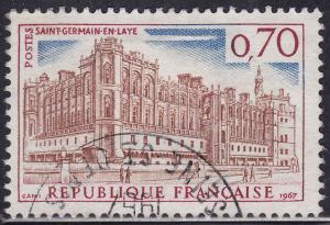 France 1187 USED 1967 Saint Germain-en-Laye