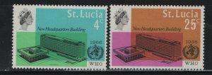ST. LUCIA, 209-R10, HINGED, 1969 Ecce Homo