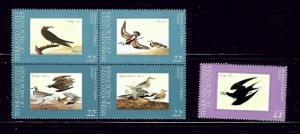 Micronesia 28a and C15 MNH 1985 Birds