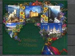 Ukraine  Europa 2004 sheet VF NH