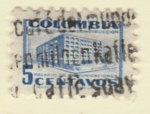 Colombia 1952 5c Fine Used A8P55F76
