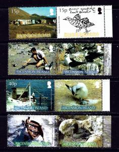 Ascension Is 920-23 MNH 2007 British Ornithilogical Society