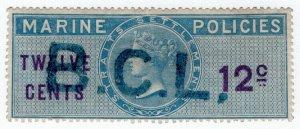 (I.B) Malaya (Straits Settlements) Revenue : Marine Policies 12c