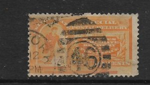UNITED STATES, E3, USED COLUMBIAN EXPOSITION ISSUE