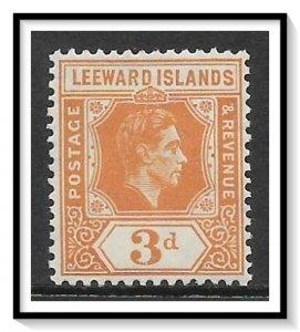 Leeward Islands #109 KG VI MH