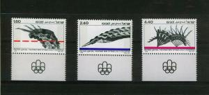 ISRAEL 1976 MNH SC.602/604 Olympic Games Montreal