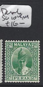 MALAYA  PERAK   (PP1605B)  SULTAN 2C   SG 104   MOG