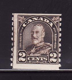 Canada 182 Coil Stamp MH King George V (B)
