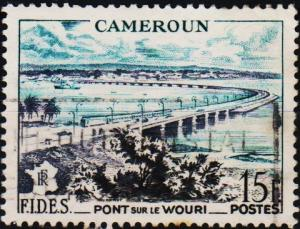 Cameroun. 1956 15f. S.G.267 Fine Used