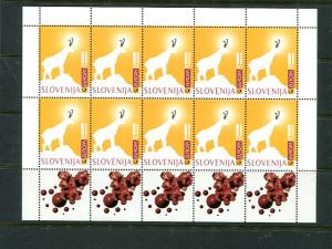 Slovenia 1997  Europa sheets Mint VF NH