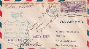 1931, Tom Thumb Air Derby, Clover Field, Santa Monica, CA, See Remark (41306)