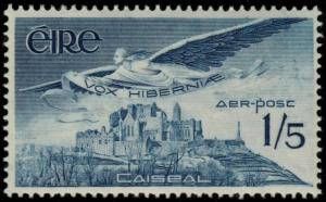 ✔️ IRELAND 1965 - AIRMAIL ROCK OF CASHEL - SC. C7 MNH OG [IR0169]