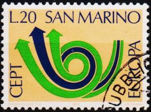 San Marino.1973 20L S.G.964 Fine Used