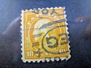 U.S. SCOTT #472   Used   (kb472)