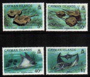 Cayman Islands  662 - 665   MNH $ 12.35
