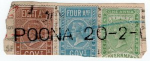 (I.B) India Telegraphs : Receipt Head 13a (Poona)
