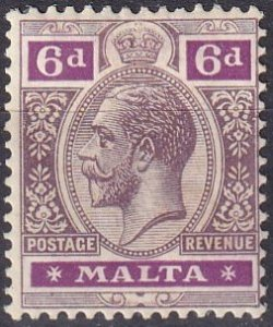 Malta #71  F-VF  Unused CV $37.50  (Z1652)