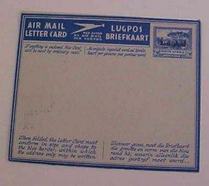 BECHUANALAND  AIR LETTER  MINT  1949