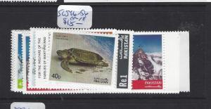 PAKISTAN (P2612B)  SC 546-556    MNH