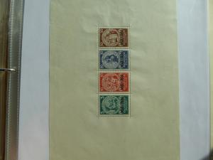 Germany Deutsches Reich 1933 Souvenir Sheet 1923-1933 APS.cer.