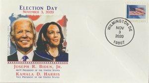 Graebner Chapter AFDCS Joe Biden Kamala Harris 11-3-20 Election Day Wilmington