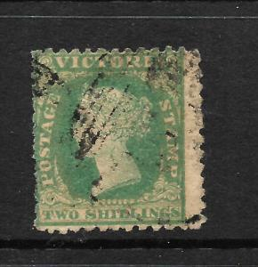VICTORIA  1859  2/-     QV     FU  SG 82