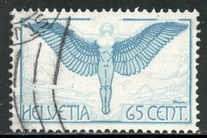 Switzerland # C10, Used. CV $ 16.00