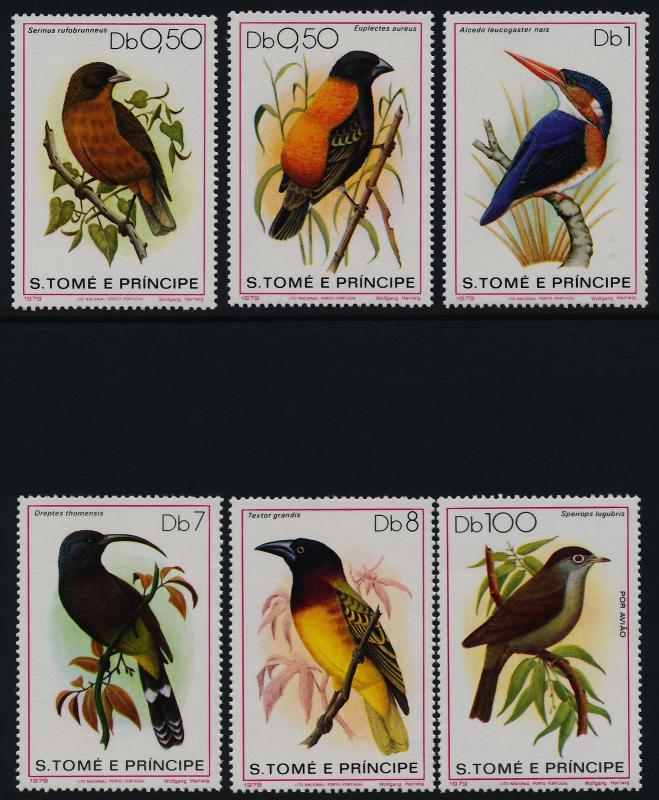 St Thomas & Prince 541-7 MNH Birds