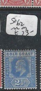 GOLD COAST   (P2306B)  KE  2 1/2 D  SG  62   MOG