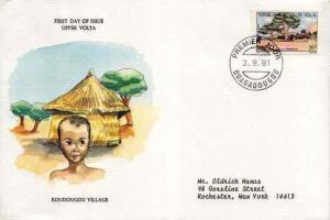 French West Africa, First Day Cover