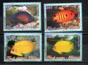 French Polynesia 893-896 MNH