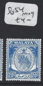 MALAYA  N.S.  (PP1605B)  ARMS 20C  SG 54      MOG