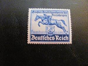 GERMANY 1938 MNH  SC# B116-117 YOUTH TORCH SET  $20 (113)
