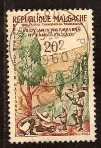Malagasy  Republic  #  316  used