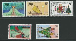 FIJI SG688/92 1984 CHRISTMAS MNH