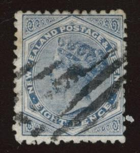 New Zealand Scott 66 Used 1882 issue CV$60