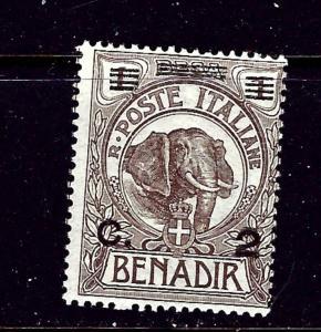 Somalia 10 MH 1906 surcharge