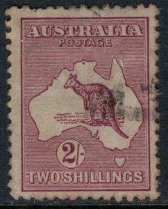 Australia #53  CV $37.50  Very light cancel